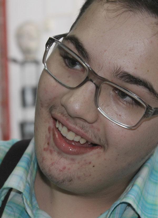 Fabian Vergani, 17 anos